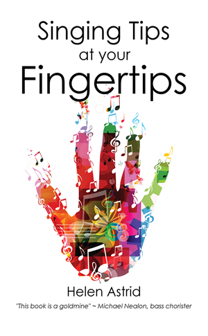 Singing tips at your fingertips at Amazon