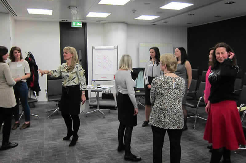 Helen Astrid Corporate Workshop Aspire Circles London