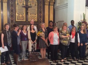 Helen Astrid and the LBRuT choir
